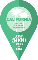 california fastest growing companies inc 500 series 2020